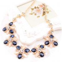 N1323 - Luxury Floral Pendant Necklace