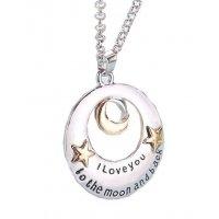N1389 - LOVERS FOREVER Short Necklace