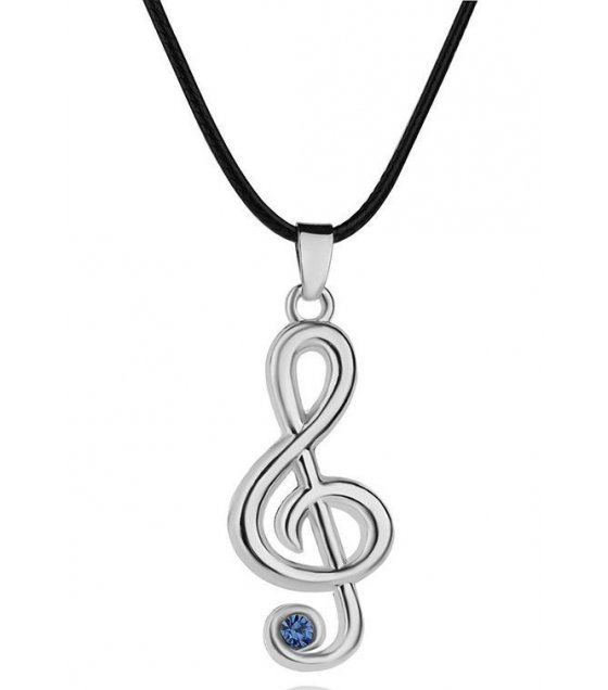 N1392 - Classical Music Note Pendant