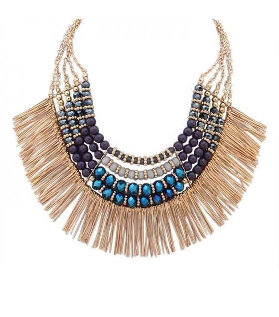 N1464 - Latest designer party necklace