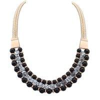 N1509 -  Alloy diamond necklace