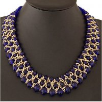 N1599 - metal exaggerated Necklace