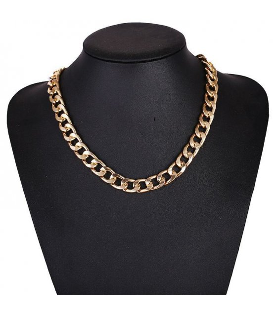 N1611 - Gold Metal necklace