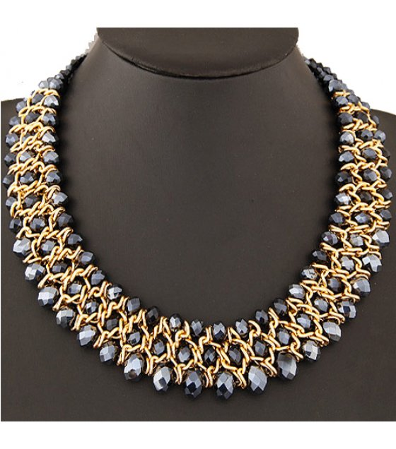 N1745 - metal exaggerated Necklace