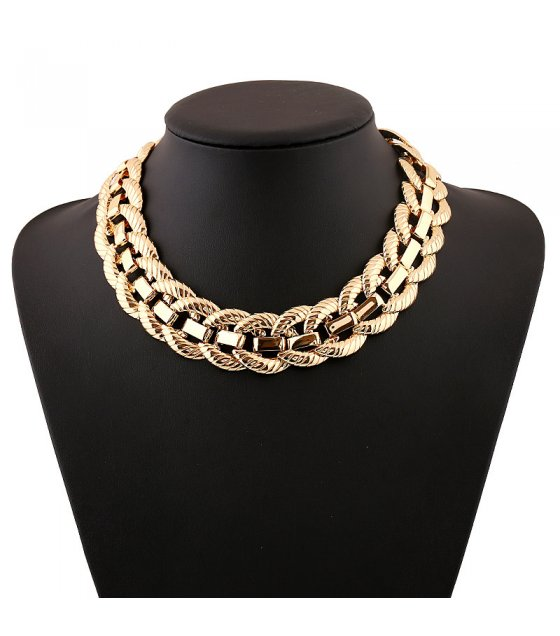 N1756 - Gold chain Necklace