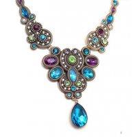 N1775 - Elegant short alloy necklace