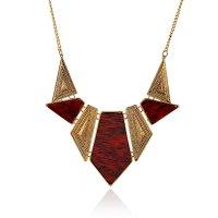 N1798 - Short paragraph decorative necklace