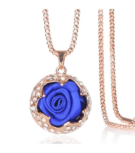 N1839 - Korean Rose Necklace
