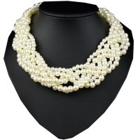 N1880 - Bohemian style exaggerated necklace