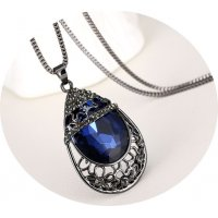 N1893 - Retro women's decorative necklace