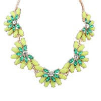 N1896 - Bohemian sweet candy color clavicle necklace