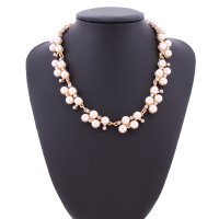 N1899 - Wild pearl short necklace