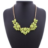 N1907 - Fresh candy flower temperament necklace
