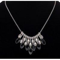 N1928 - Geometric gemstone pendant