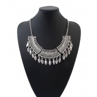 N1936 - Fashion water drop tassel Necklace
