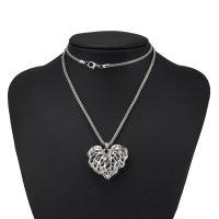 N1948 - Heart zircon necklace