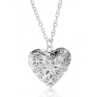 N1971 - Heart Locket Necklace