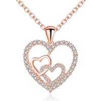 N1982 - Heart Pendant Necklace
