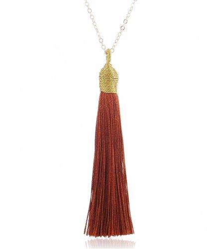 N1994 - Fashion Tassel Necklace