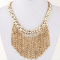 N1996 - Tassel Short Necklace