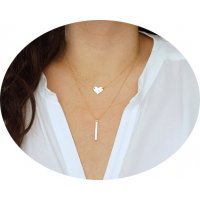 N1999 - Simple Heart Necklace