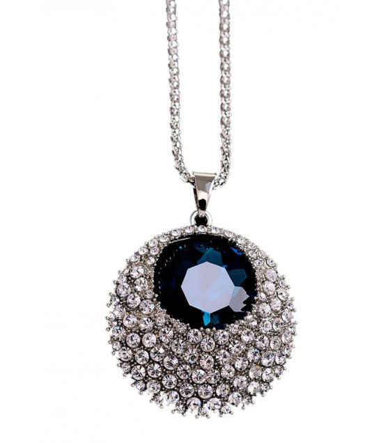N2021 - Crystal round sweater chain