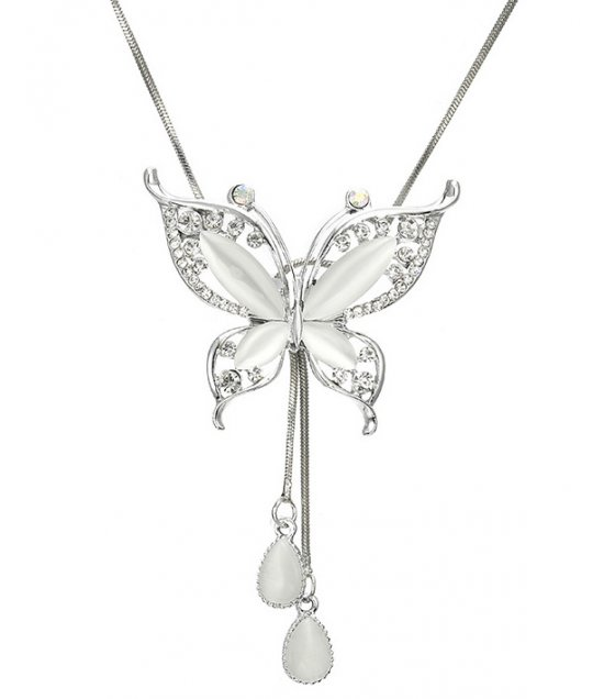 N2028 - Korean butterfly Necklace