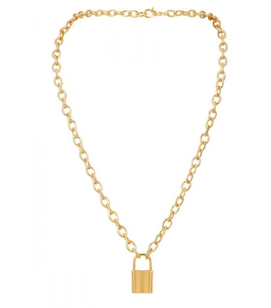 N2034 - Simple Gold Necklace