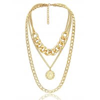 N2035 - Layered Gold Necklace