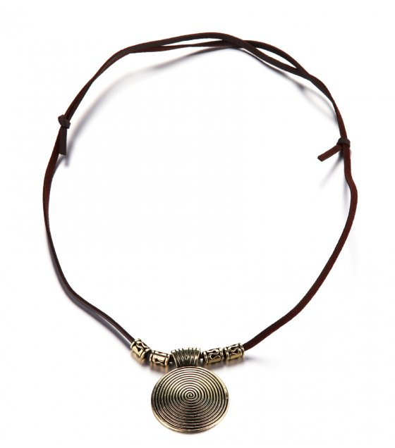N2045 - Gold Coin Necklace