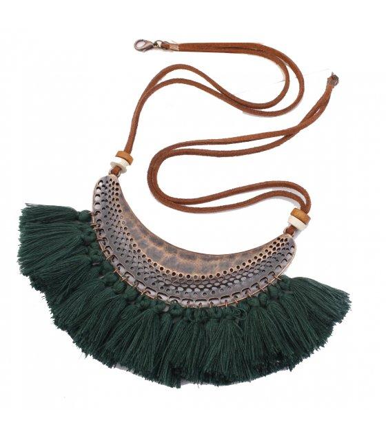 N2046 - Fringed necklace