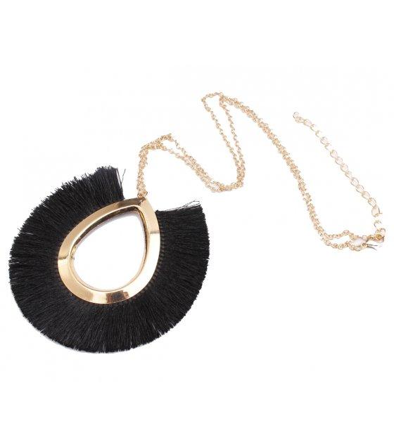 N2047 - Bohemian Fringe necklace