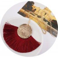 N2048 - Bohemian Fringe necklace