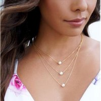 N2059 - Layered Pearl Necklace
