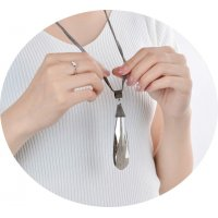 N2079 - High-end crystal drop Necklace