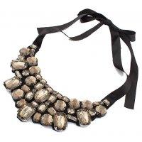 N2096 - Petal Fake Collar Necklace