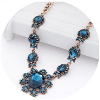 N2097 - Exaggerated Gemstone Necklace