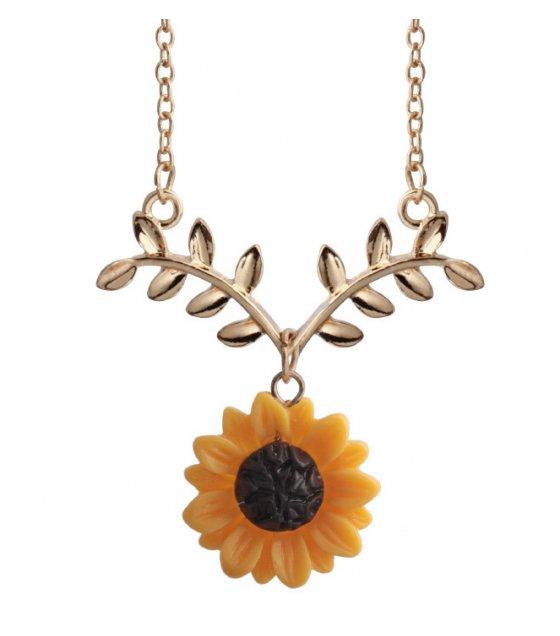 N2120 - Sunflower Necklace Pendant