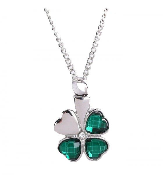 N2143 - Four-leaf clover Necklace