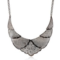 N2158 - Fashion hollow necklace