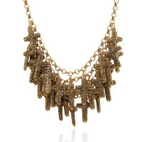 N2161 - Fashion wild multi-layer necklace
