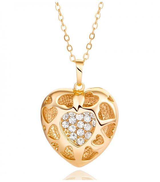 N2176 - Korean fashion exquisite Heart Necklace
