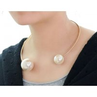 N2177 - Korean Pearl Fashion Necklace