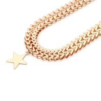 N2215 - Gold Star Necklace