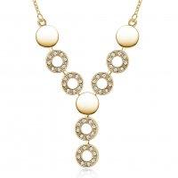 N2220 - Gold Droplet Necklace