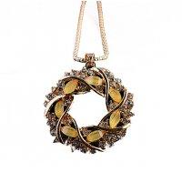 N2222 - Korean Hollow Necklace