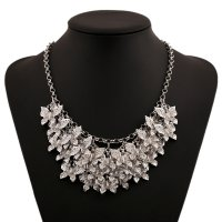 N2225 - Retro multi-layer butterfly Necklace