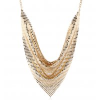 N2228 - Cloth Scarf Collar Necklace