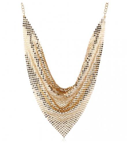 N2228 - Cloth Scarf Collar Necklace