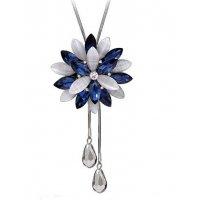N2232 - Korean temperament flower Necklace
